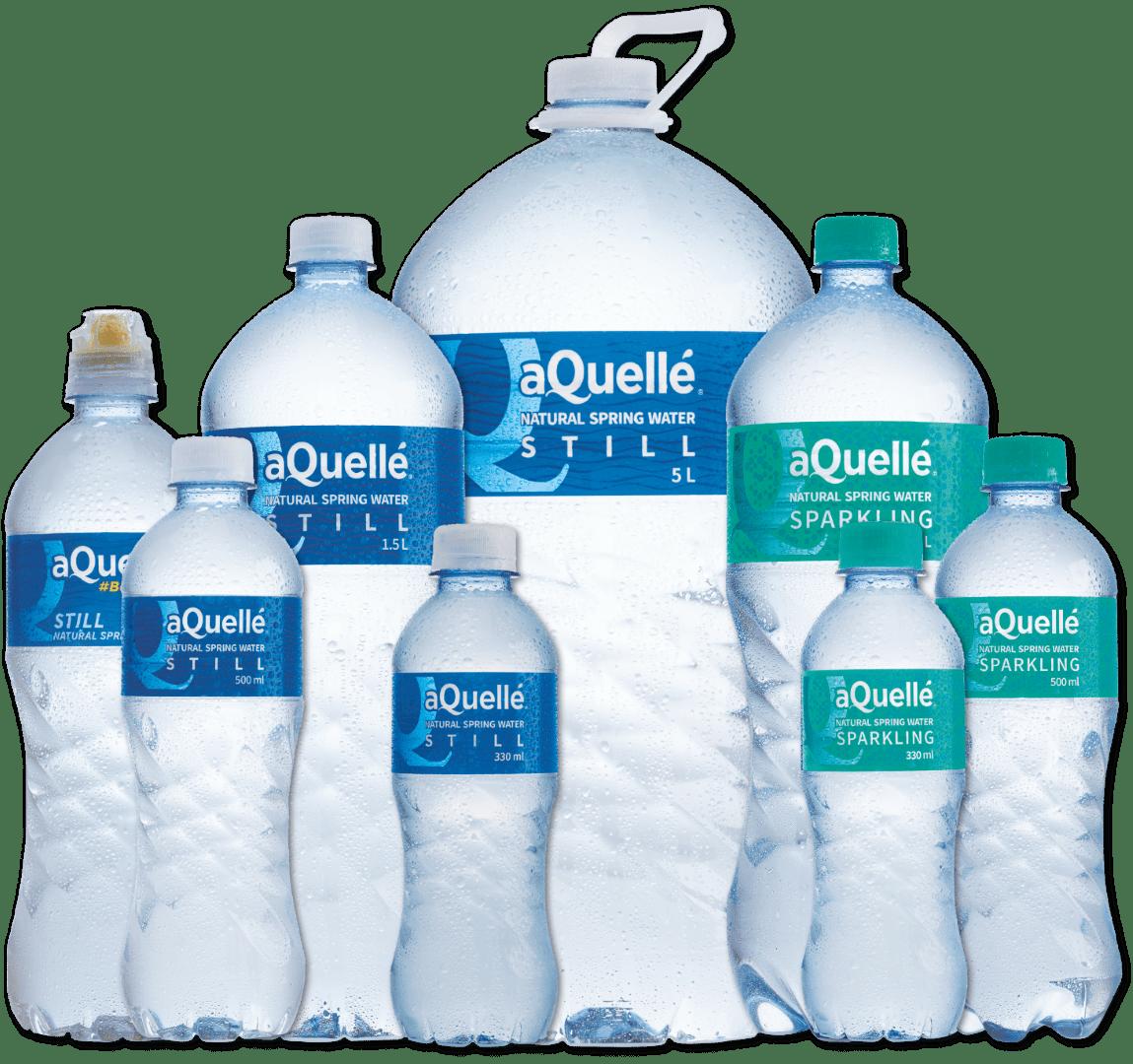 Natural Spring Water Range - sizes